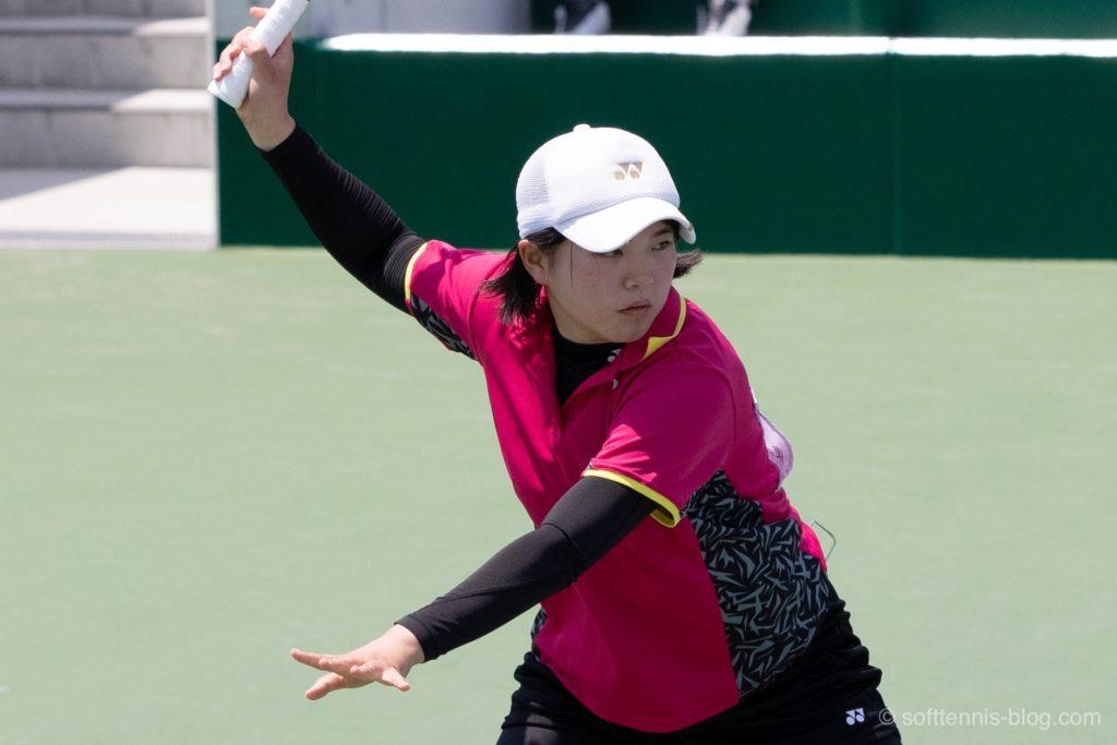林田選手の画像