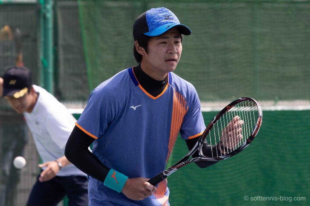 安藤選手の使用ソフトテニスラケット(2019年)