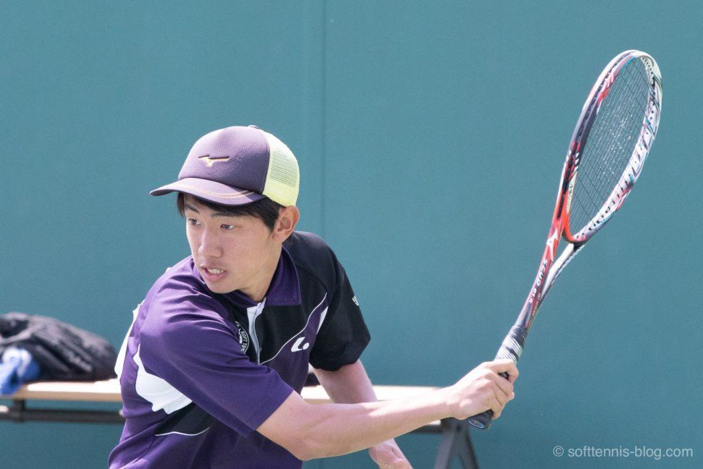 根本選手の使用ソフトテニスラケット(2019年)