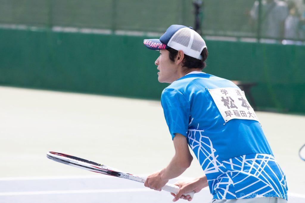 松本選手の使用ソフトテニスラケット(2019年)