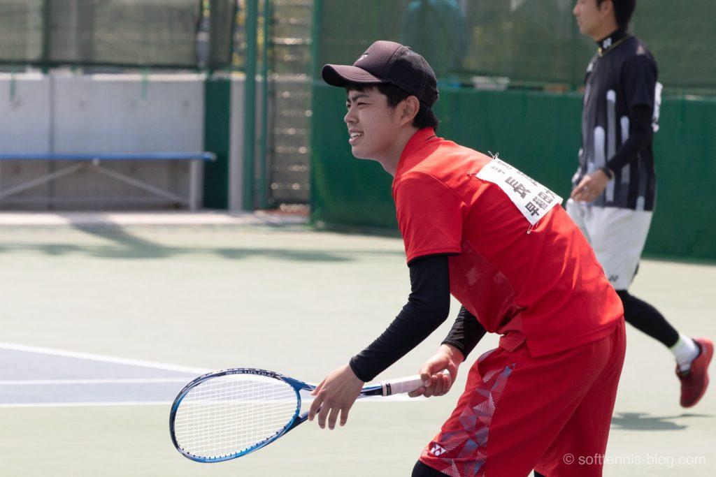 長尾選手の使用ソフトテニスラケット(2019年)