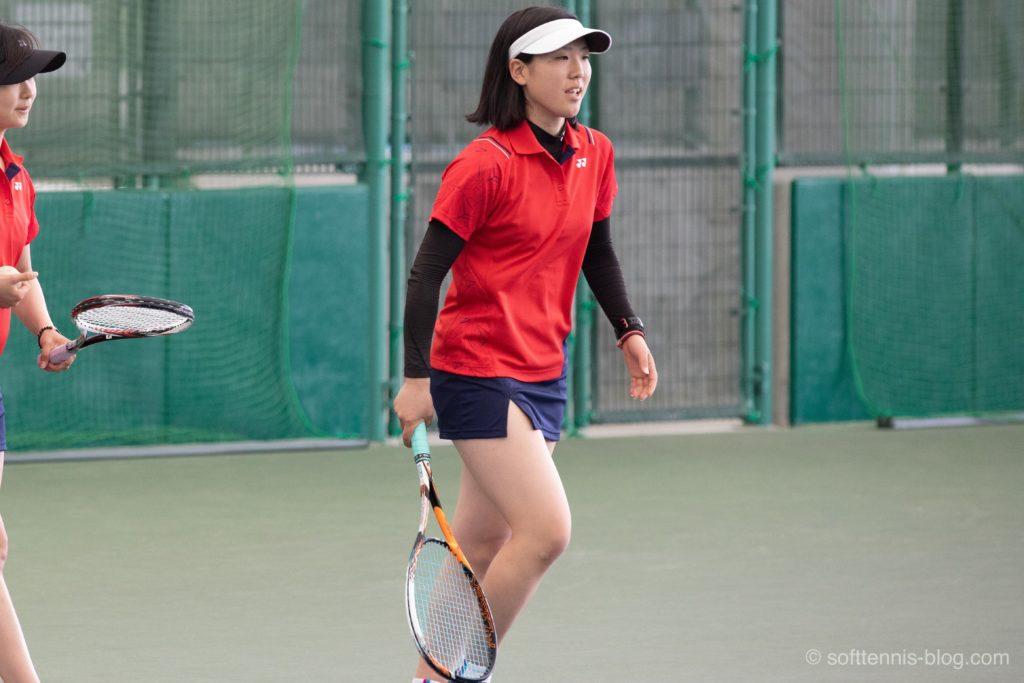 黒田選手の使用ソフトテニスラケット(2019年)