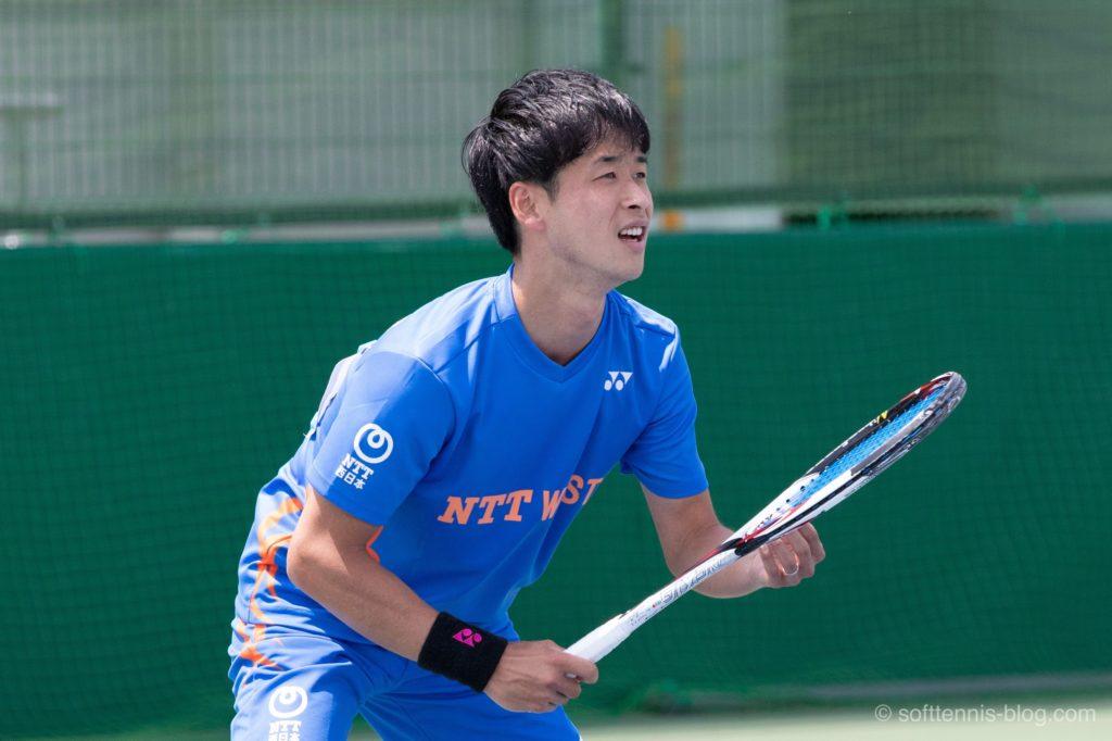 丸中選手の使用ソフトテニスラケット(2019年)
