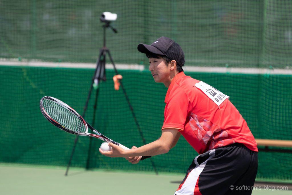 山根選手の使用ソフトテニスラケット(2019年)