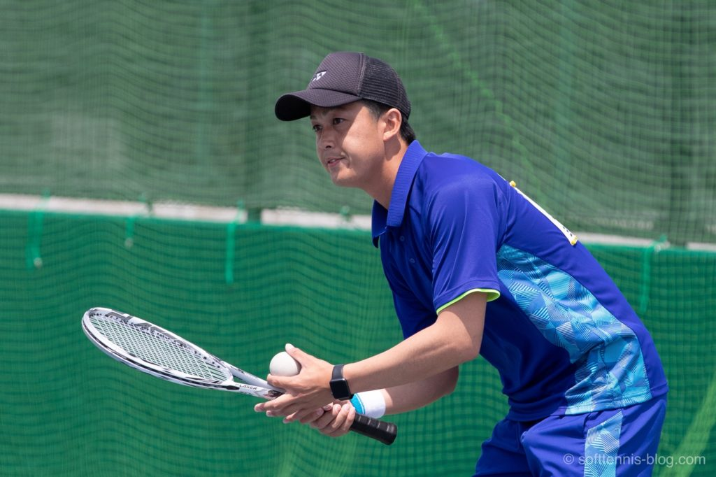 柴田選手の使用ソフトテニスラケット(2019年)