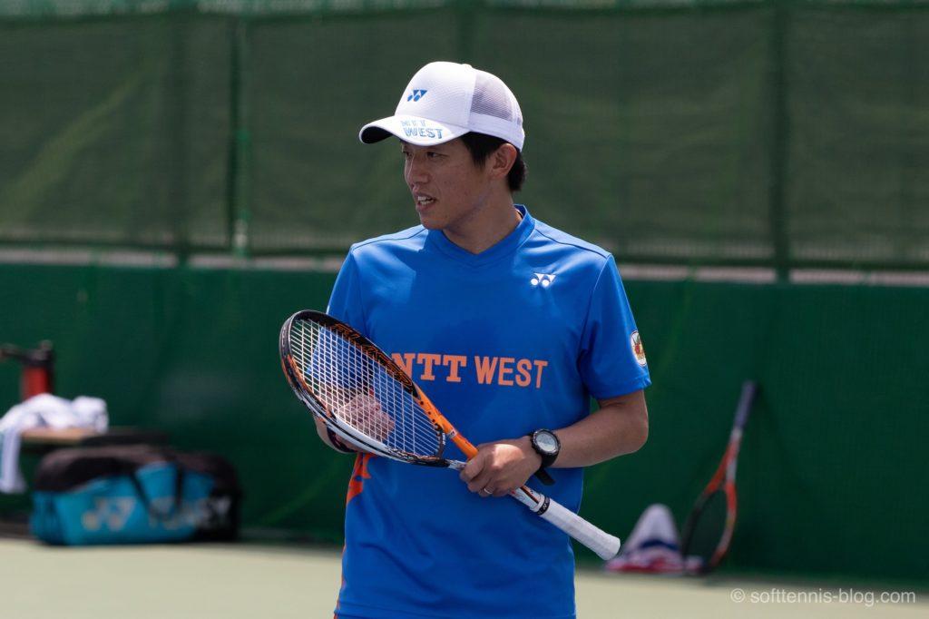 村上選手の使用ソフトテニスラケット(2019年)