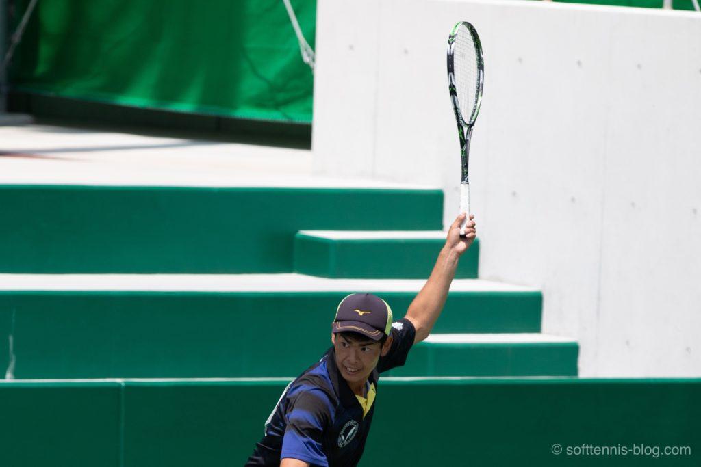 本倉選手の使用ソフトテニスラケット(2019年)