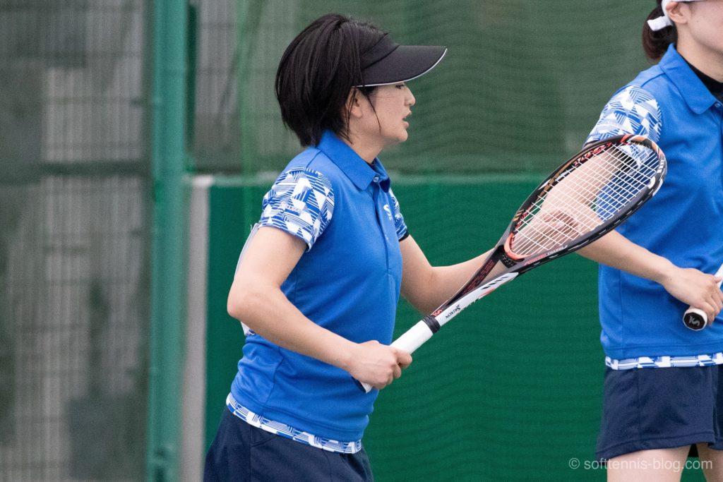 大槻選手の使用ソフトテニスラケット(2019年)