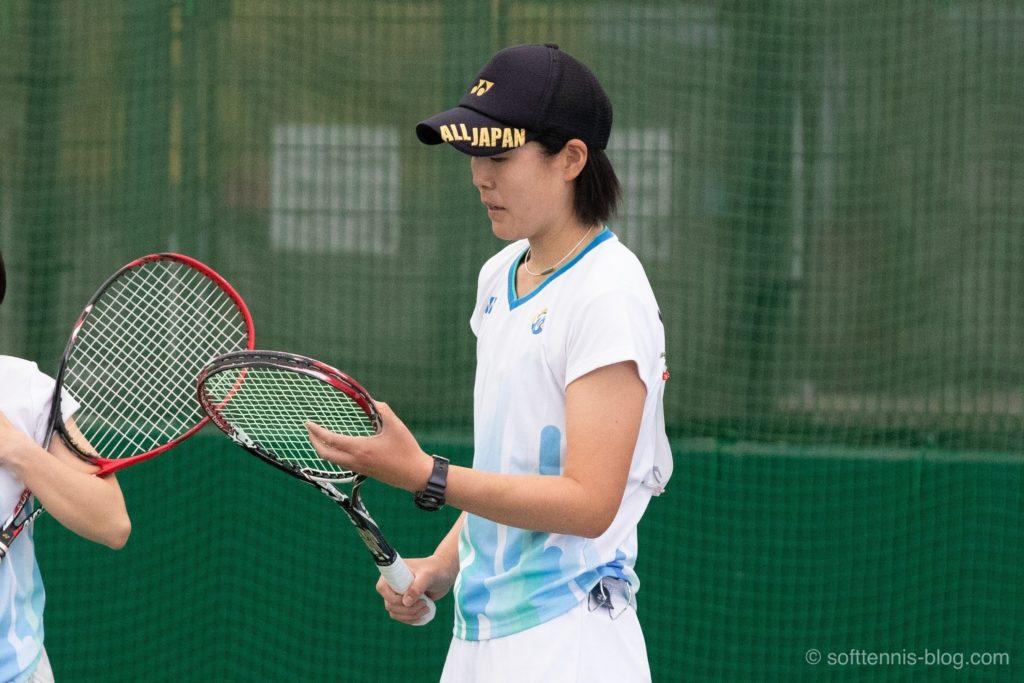 植田選手の使用ソフトテニスラケット(2019年)