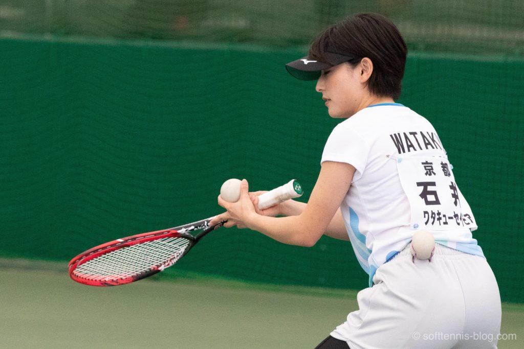 石井選手の使用ソフトテニスラケット(2019年)