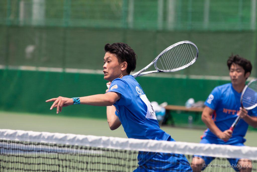 林選手の使用ソフトテニスラケット(2019年)