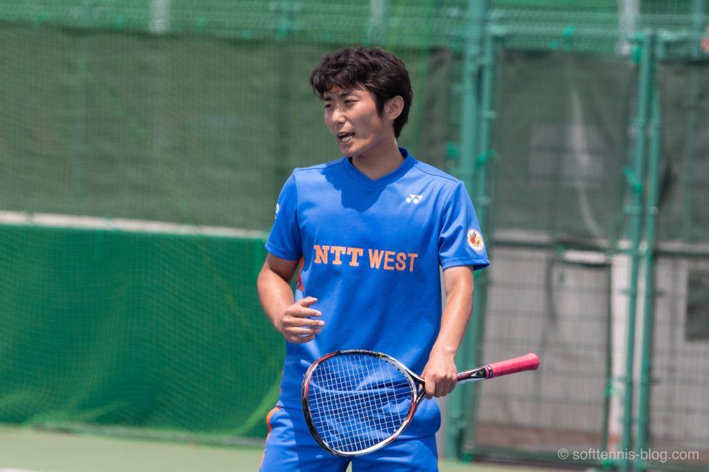 村田選手の使用ソフトテニスラケット(2019年)