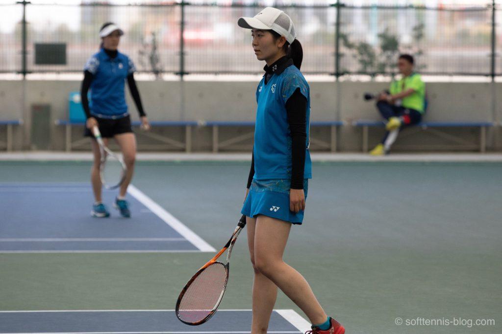 笠井選手の使用ソフトテニスラケット(2019年)