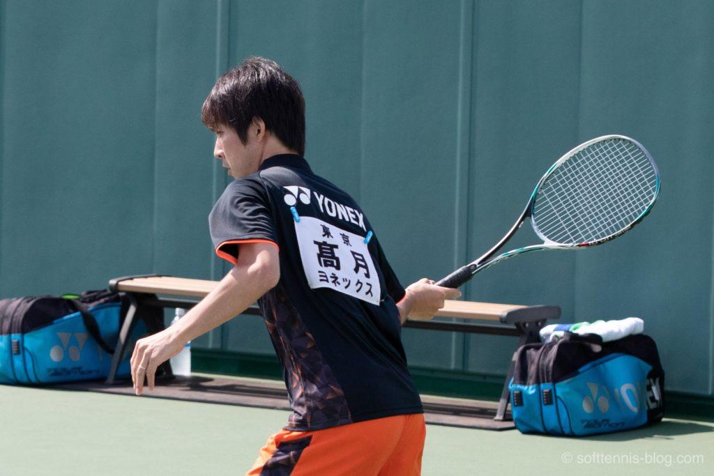 高月選手の使用ソフトテニスラケット(2019年)