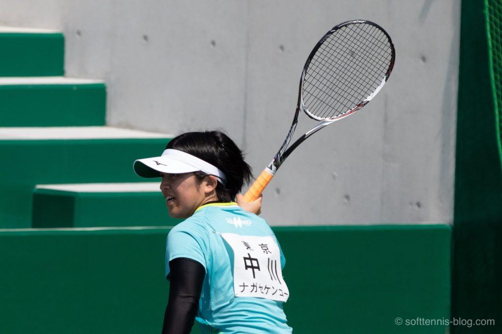 中川選手の使用ソフトテニスラケット(2019年)