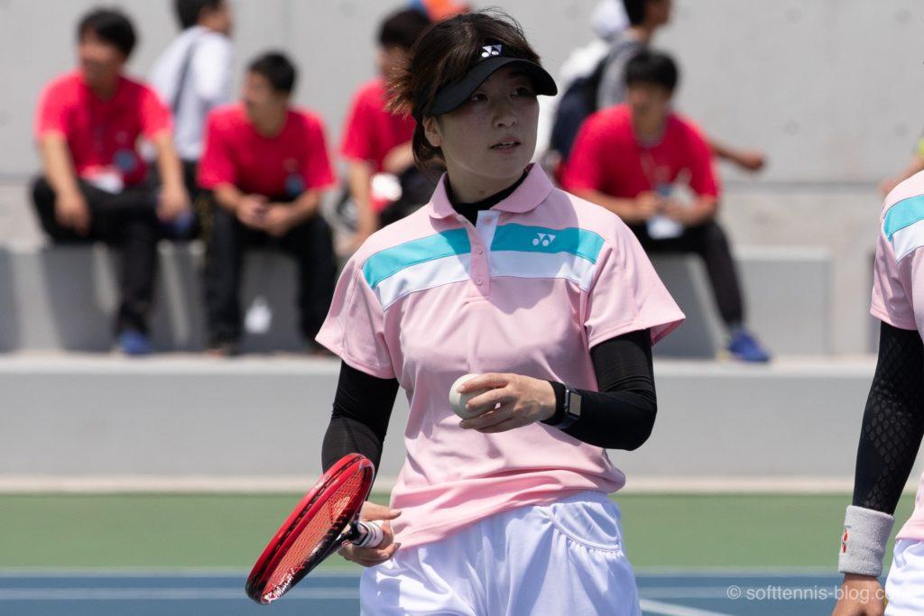 井田選手の使用ソフトテニスラケット(2019年)