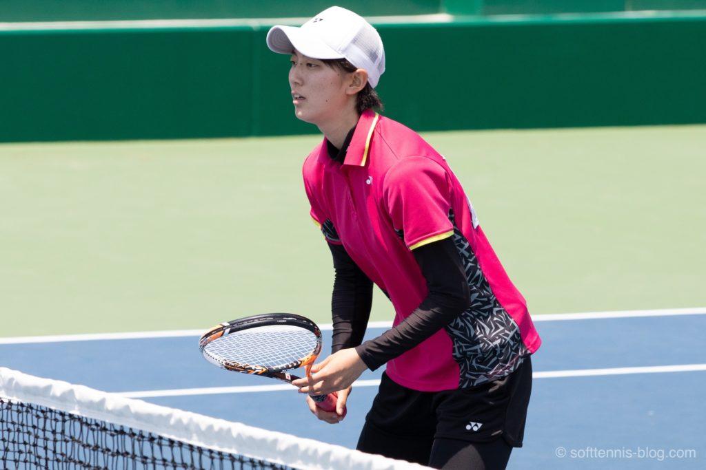 島津選手の使用ソフトテニスラケット(2019年)