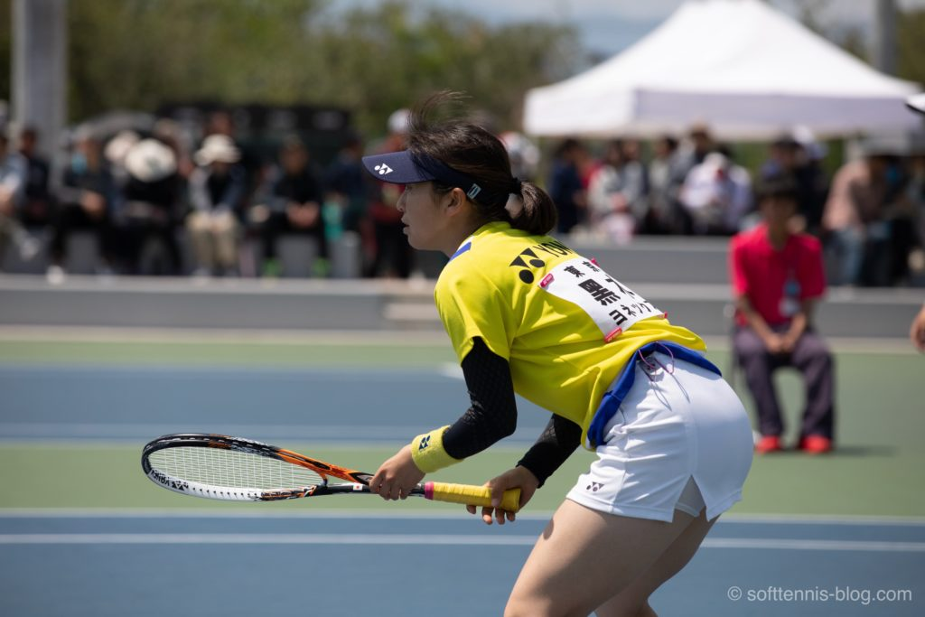 黑木選手の使用ソフトテニスラケット(2019年)