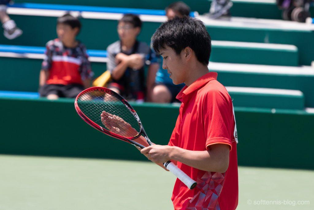内田選手の使用ソフトテニスラケット(2019年)