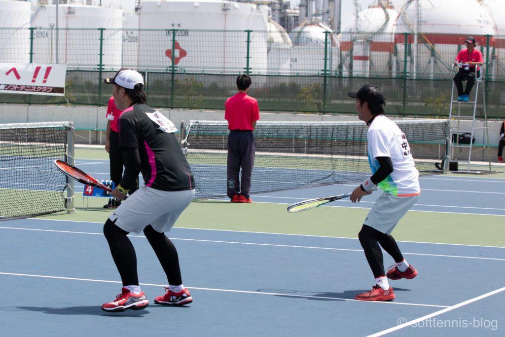 ソフトテニスのスパッツの画像