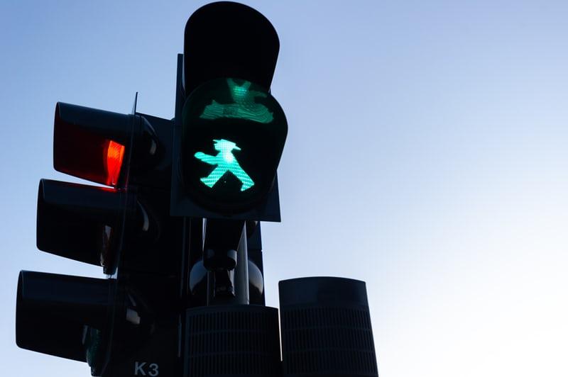 信号の画像