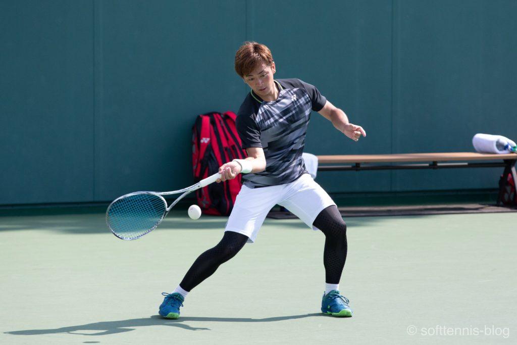 ソフトテニスの写真