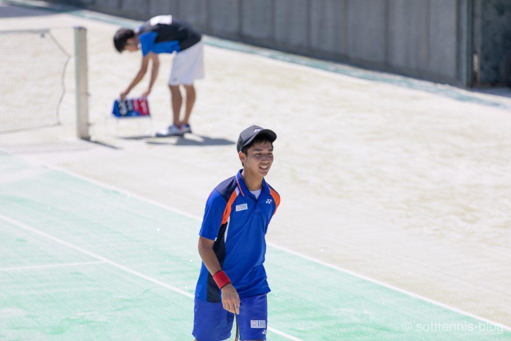 玉置大祐選手(ソフトテニス)の画像