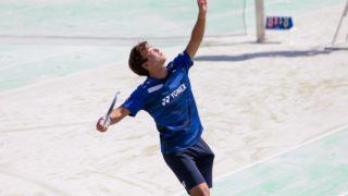船水颯人選手(ソフトテニス)の画像