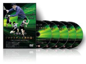 小峯秋二さん『ソフトテニス進化論』(ソフトテニスDVD)の画像