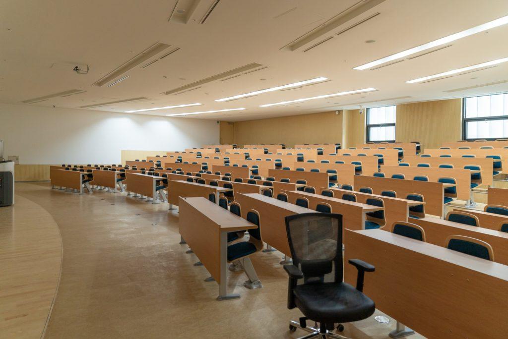 講義室の画像