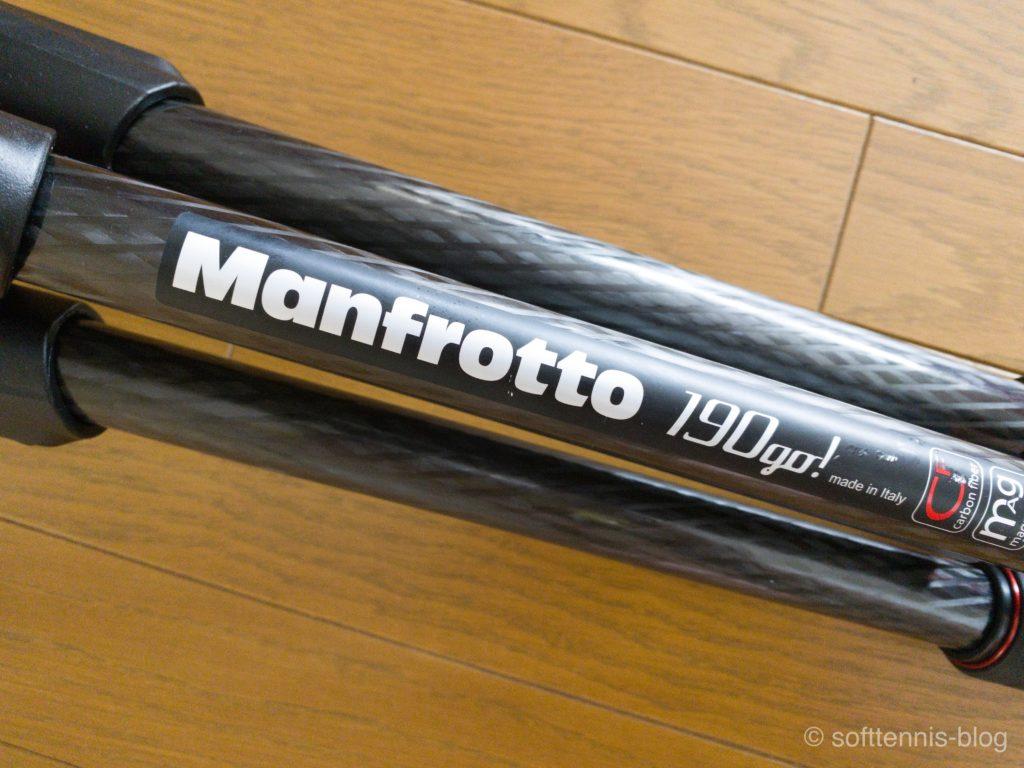 Manfrotto 190go!(MK190GOC4-3WX)の画像