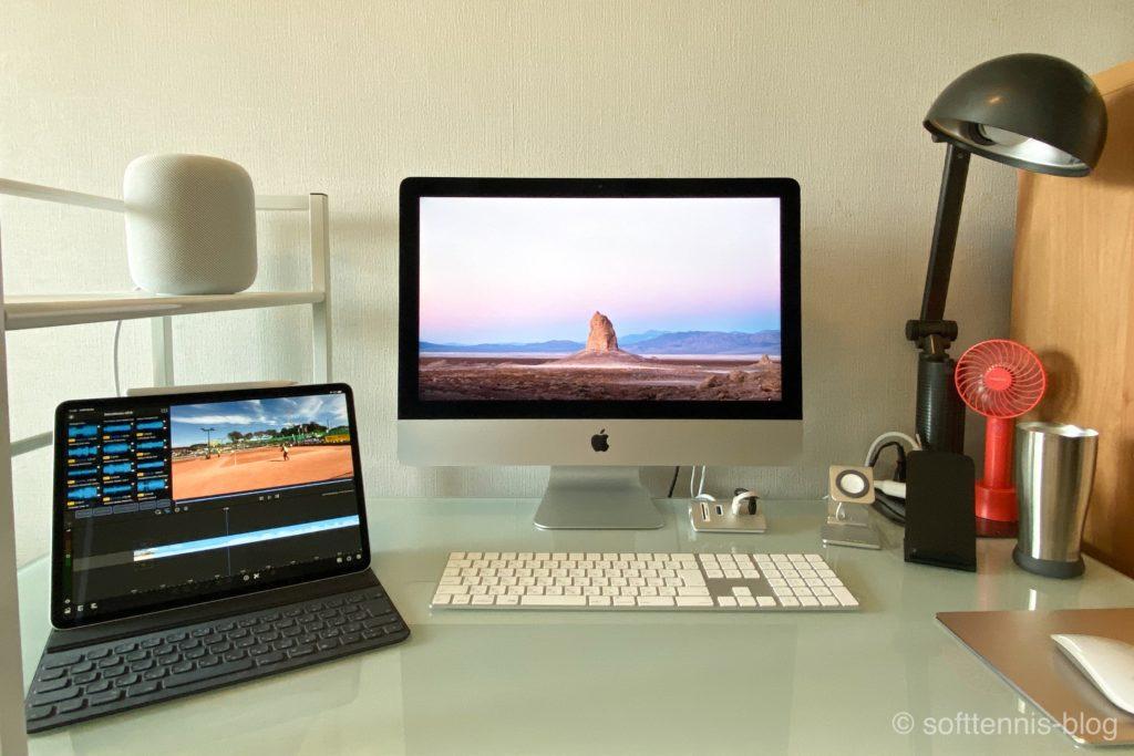 サンワダイレクト パソコンデスクの画像