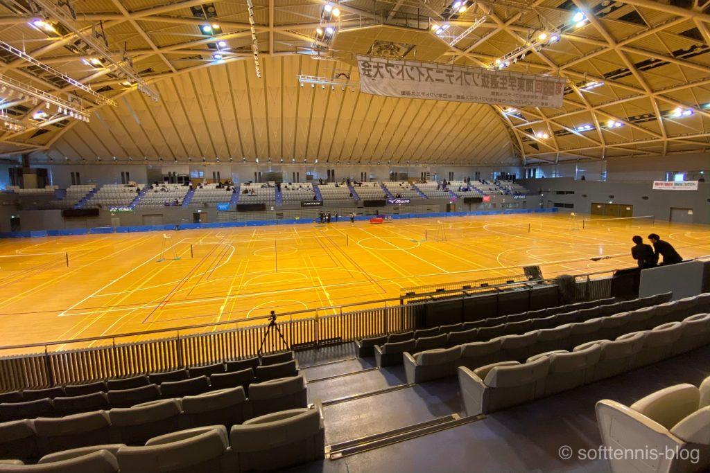 関東学生選抜ソフトテニスインドア大会の画像