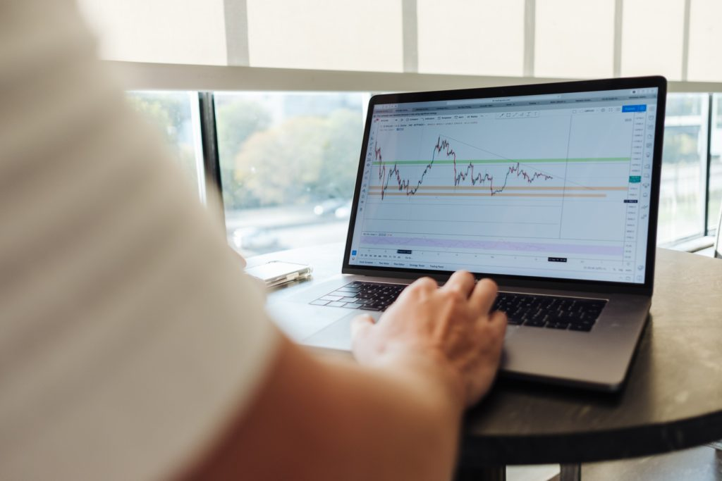 株取引の画像