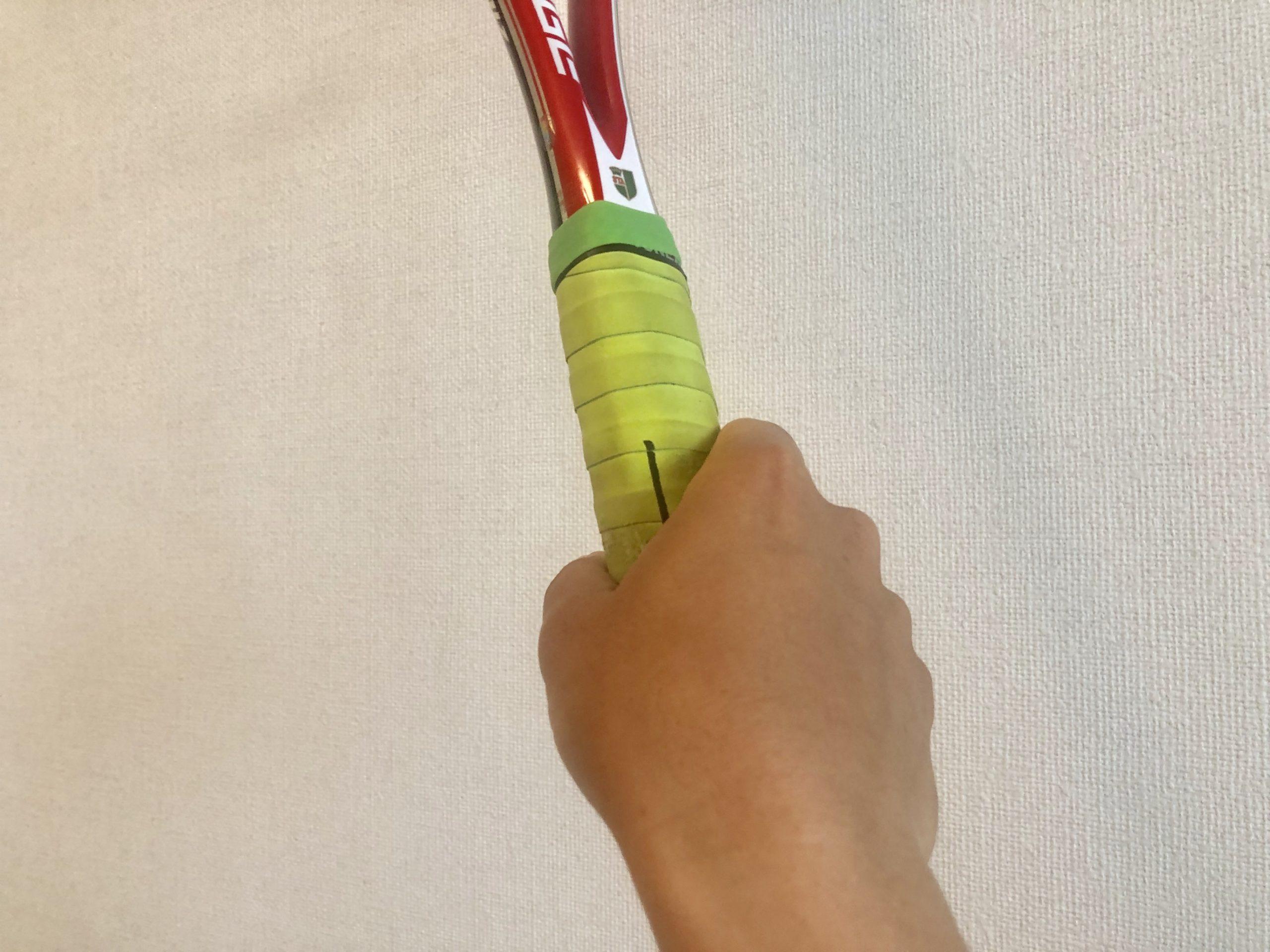 【ソフトテニス】ラケットの持ち方(グリップの握り方)を解説