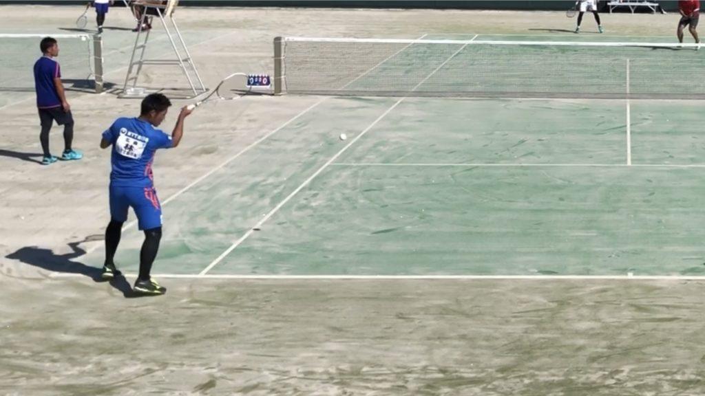 【ソフトテニス】ワイパースイングとは?動画を使って解説します