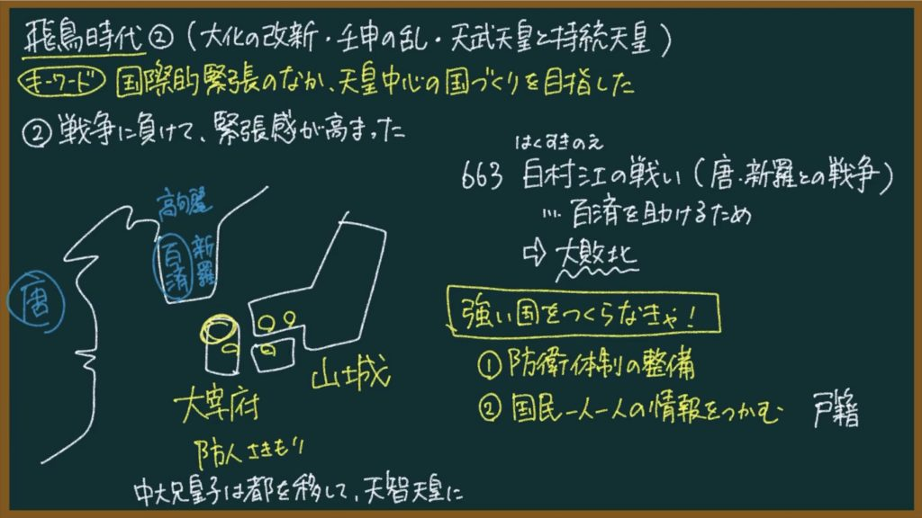 【日本史8】律令国家の成立について東大卒の元社会科教員がわかりやすく解説
