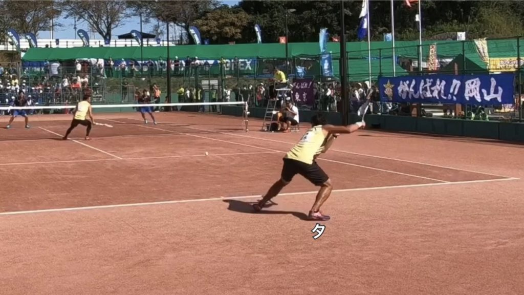 【ソフトテニス】回り込みのステップや注意点!動画を使って解説します