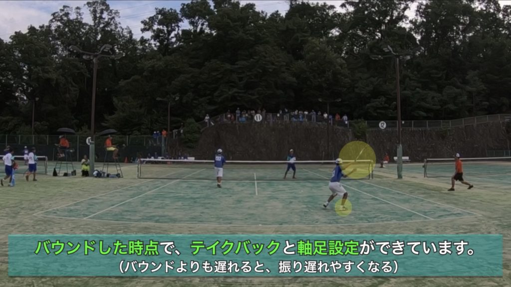 【ソフトテニス】ミドルレシーブのコツなどを動画・写真を使って解説