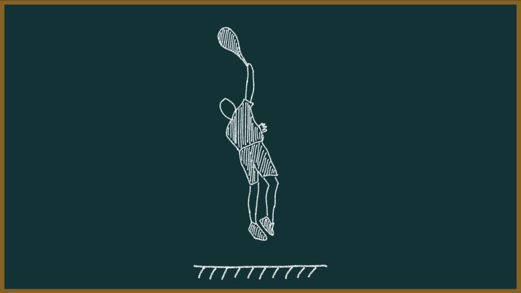 【253ページ目:もちおのソフトテニスノート】サーブのコツ③(サーブのフォーム)