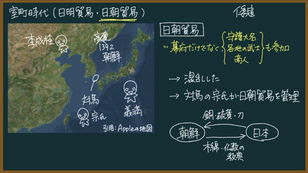 【日本の歴史26】日明貿易(勘合貿易)と日朝貿易とは?東大卒の元社会科教員がわかりやすく解説