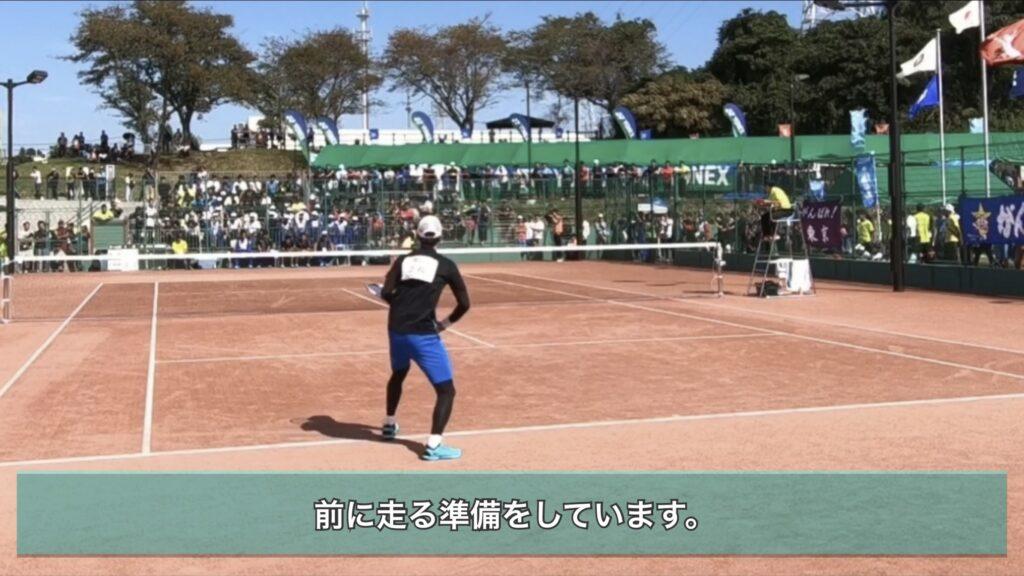 【ソフトテニス】短いボールを取れない選手がやっていない動き