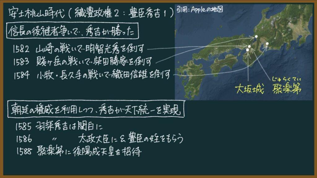 【日本の歴史31】豊臣秀吉の統一事業(織豊政権2)について東大卒の元社会科教員がわかりやすく解説
