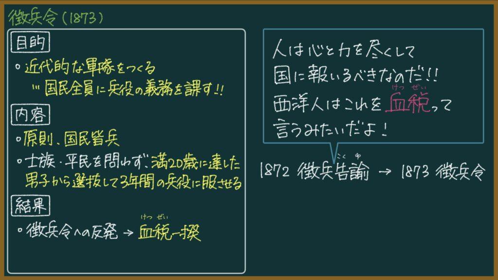 【日本史】徴兵令とは?東大卒元社会科教員がわかりやすく解説
